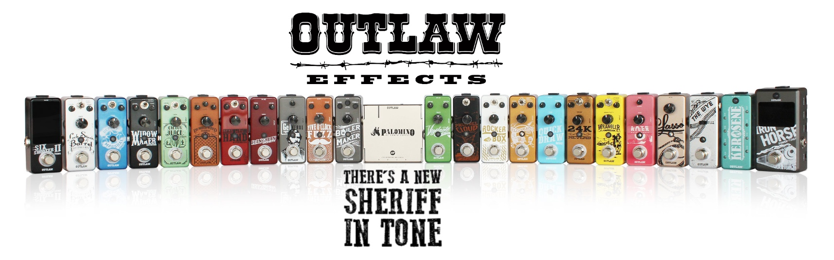 Outlaw Mini Effect Pedals