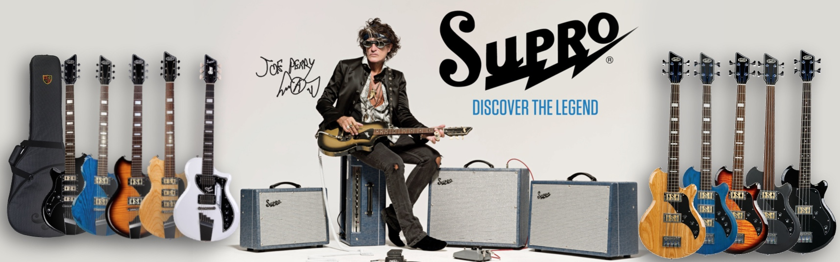 Supro Guitars and Amplifiers