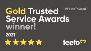 Feefo Gold Trusted Service Award Winner!