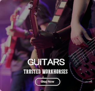 Guitars, Bass, Acoustic, Entry Level and Left Handed Guitars Available