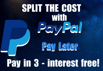 Split the cost over 3 months, interest free!