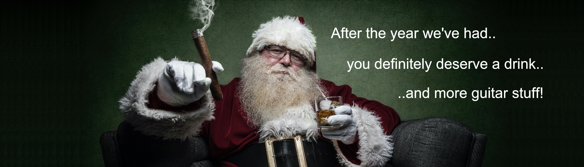 Santa wants you to have more guitar stuff!