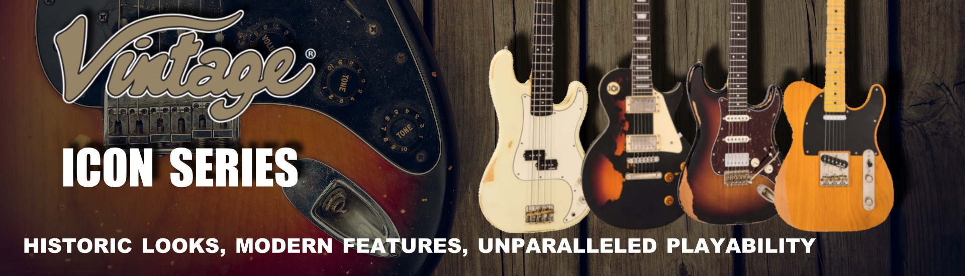 Vintage Icon Series Electric Guitars